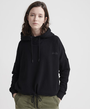 Orange Label Elite Crop Loopback Hoodie