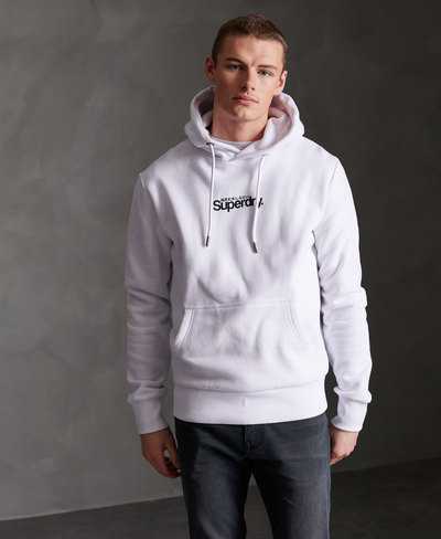 Core Logo Essential Brushed Hoodie