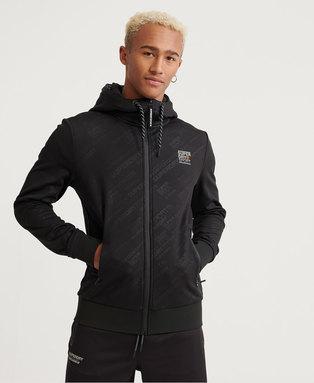 Active Water Repellent Zip hoodie