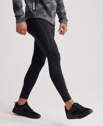 Performance Flock Compression Legging