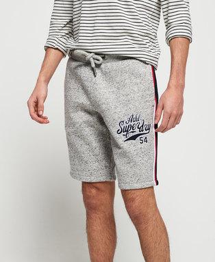 College Applique Shorts