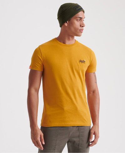 Orange Label Embroidery T-Shirt