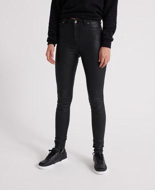 Sophia Coated Skinny Jeans