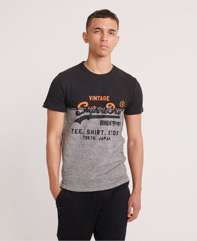 Shirt Shop Split Panel T-Shirt