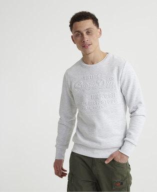 Sweat Shirt Shop Embossed Crew Neck Sweatshirt