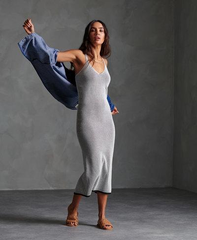 Edit Knitted Slip Dress