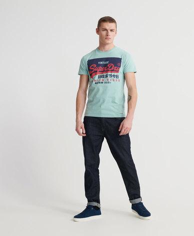 Organic Cotton Vintage Logo T-Shirt