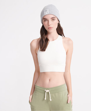 Desert Rib Crop Top