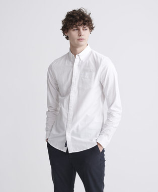 Classic University Oxford Long Sleeve Shirt