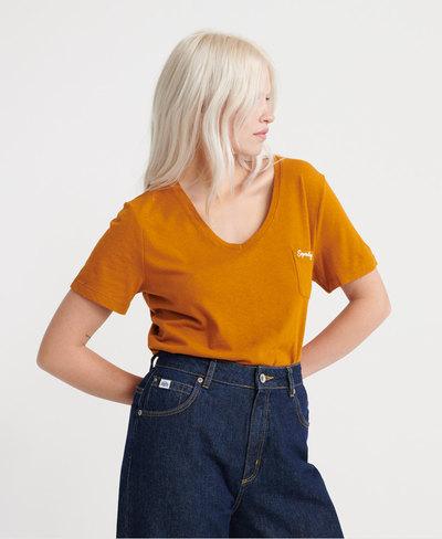 Orange Label Essential V-Neck T-Shirt