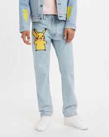 Levi's® x Pokémon 551Z Men's Authentic Straight Jeans