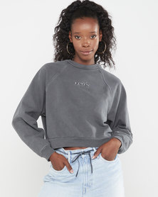 Levi's® Women's Garment-Dye Vintage Raglan Crewneck Sweatshirt