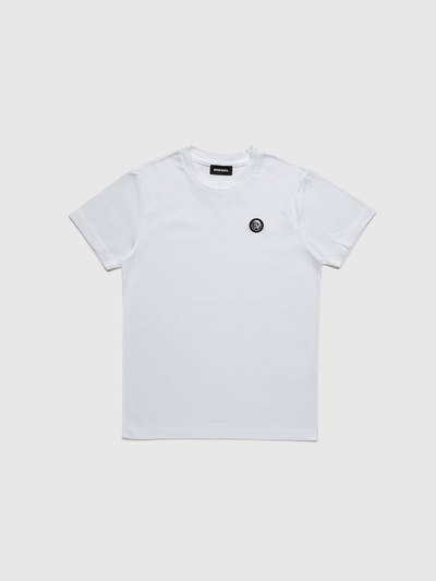 KIDS MONOCHROME T-SHIRT WITH MOHAWK PATCH