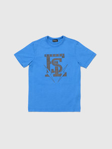 T-Shirt With Fsl College Print