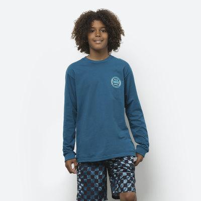 Boys Authentic Checker Long Sleeve T-Shirt