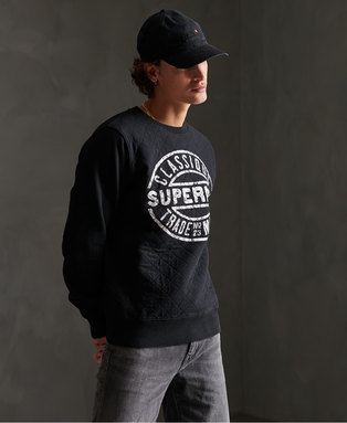 Workwear Quilted Crew Sweatshirt