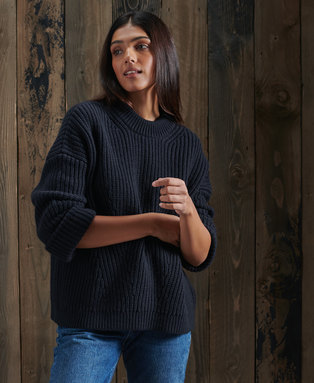 Stitch Deflected Tunic Jumper