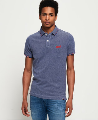 Poolside Pique Polo Shirt