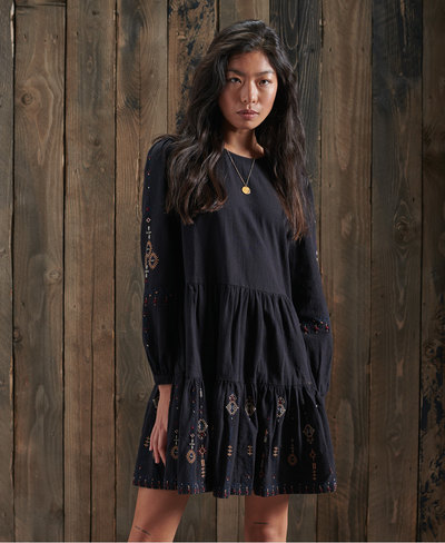 Anisa Embroidered Dress
