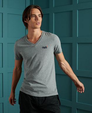 Orange Label Classic V-Neck T-Shirt