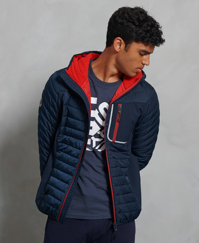 Convection Hybrid Hooded Jacket