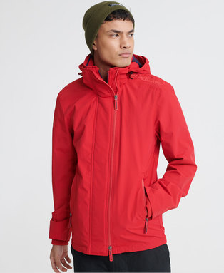 Tech Hood Pop Zip SD-Windcheater Jacket