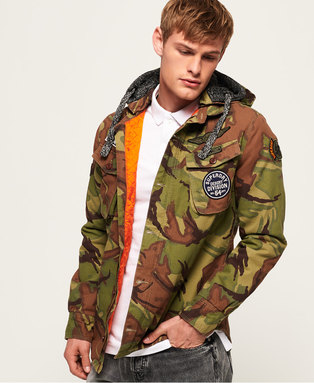 Military Storm Hooded Jacket