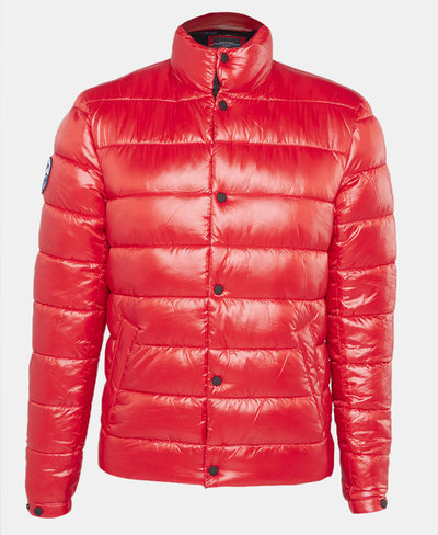 High Shine Quilted Puffer Jacket