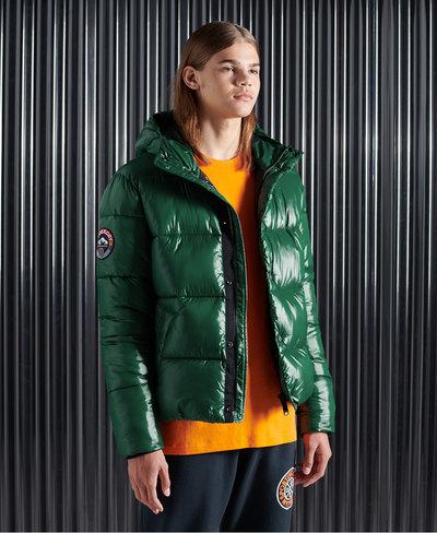 High Shine Padded Jacket
