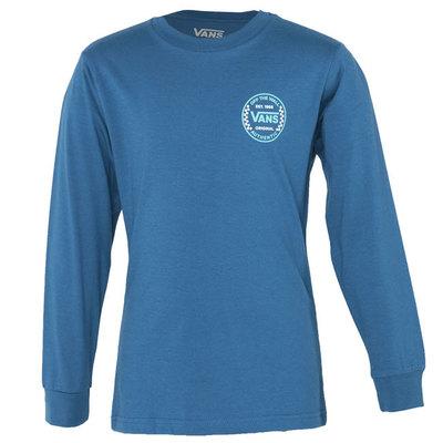 Kids Authentic Checker Long Sleeve T-Shirt