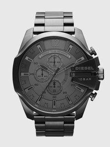 Chronograph Gunmetal Stainless Steel Watch