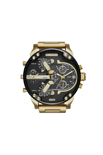 Multilayer Stainless Steel Watch