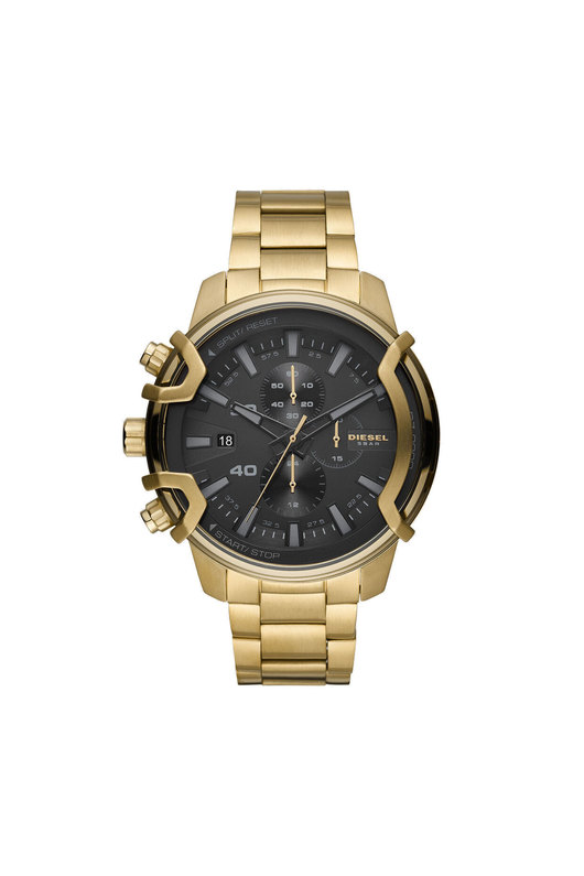 Chronograph Gold-Tone Stainless Steel Watch