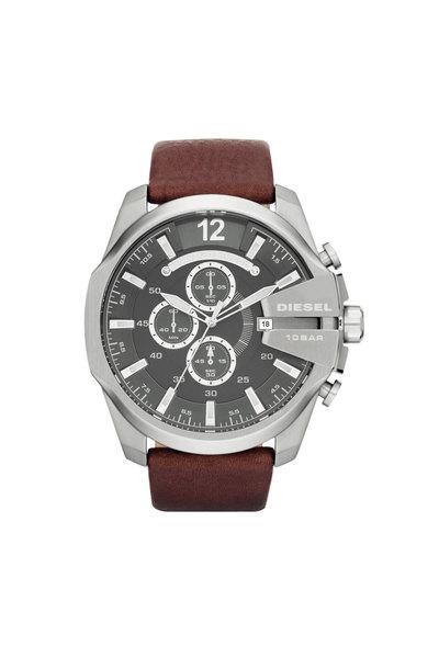 Round Leather Watch