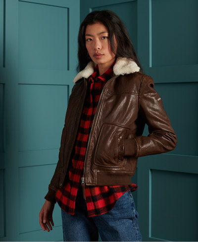 Aviator Flight Leather Jacket