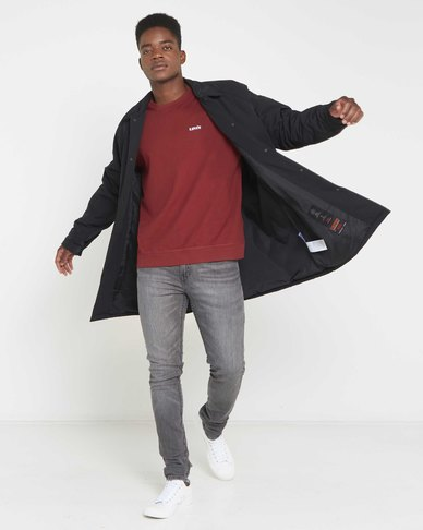 Levi's® Men's Ellis Quilted Coachs Coat