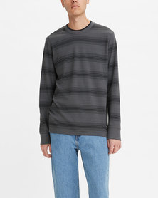 Levi's® Men's Tipped Crewneck Long Sleeve T-Shirt