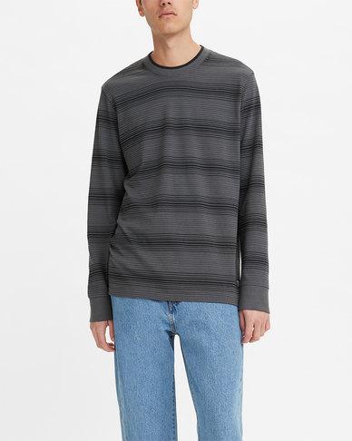 Levi's® Men's Tipped Crewneck Long Sleeve T-Shirt