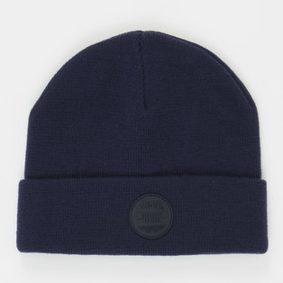SHORT RIBBED BEANIE