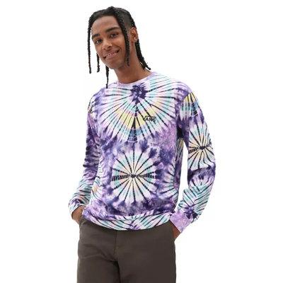 Vans Burst Tie Dye Long Sleeve T-Shirt