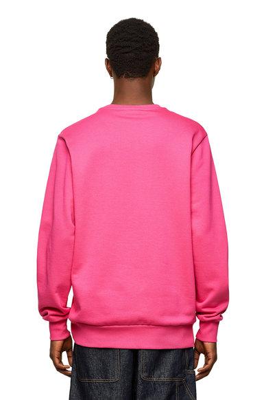 Logo sweatshirt in loopback cotton