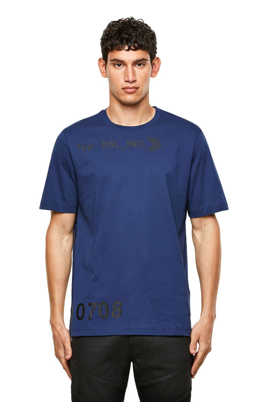 Green Label T-shirt with DSL_IND print