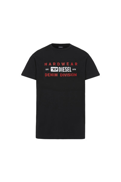 T-shirt with Denim Division print