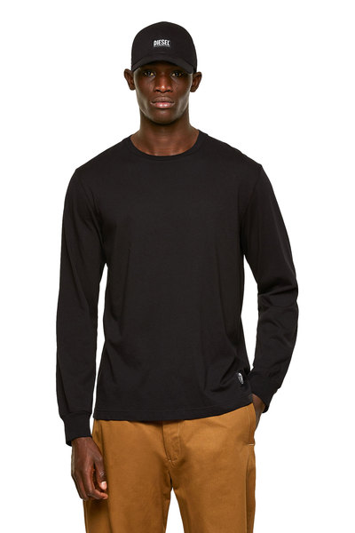 Long-sleeve T-shirt with Mohawk patch