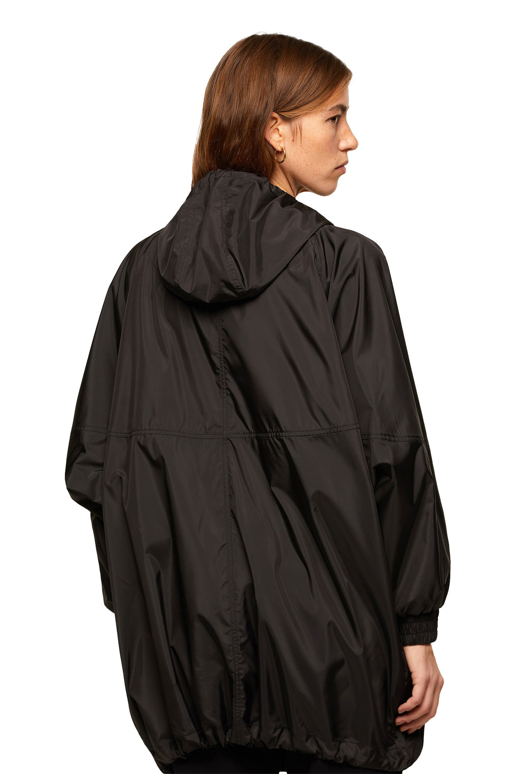 Long jacket with contrast details