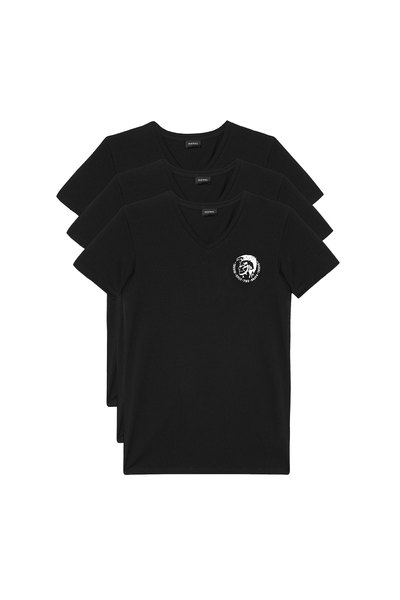 V-neck T-shirts with logo - 3 Pack