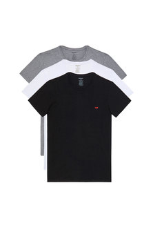 T-shirts with D logo - 3 Pack