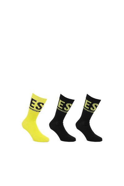 socks with Diesel logo - 3 Pack