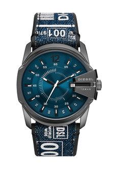 Denim Strap Watch