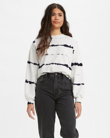 Levi's® Women's Melrose Garment-Dye Slouchy Crewneck Sweatshirt